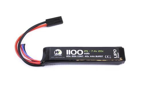 Nuprol Battery - Tamiya Lipo Stick 7.V - 1100 Mah-0