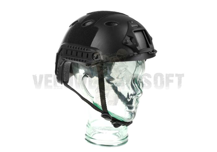 Fast helmet PJ ECO - Black-0