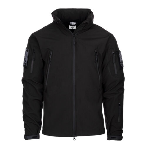 Tactical Softshell Jacket - Black-0