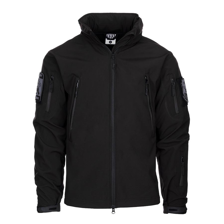 Tactical Softshell Jacket - Black-0