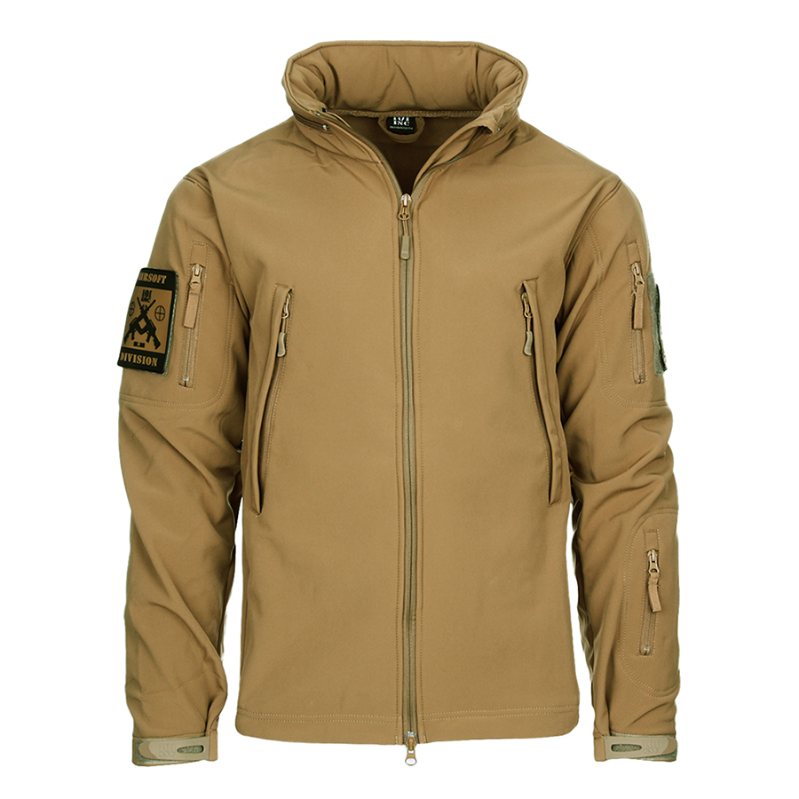 Tactical Softshell Jacket - Coyote-0