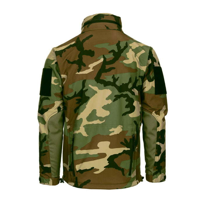 Tactical Softshell Jacket - Woodland-1639