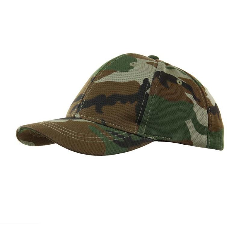 Kids baseball cap - Woodland-0