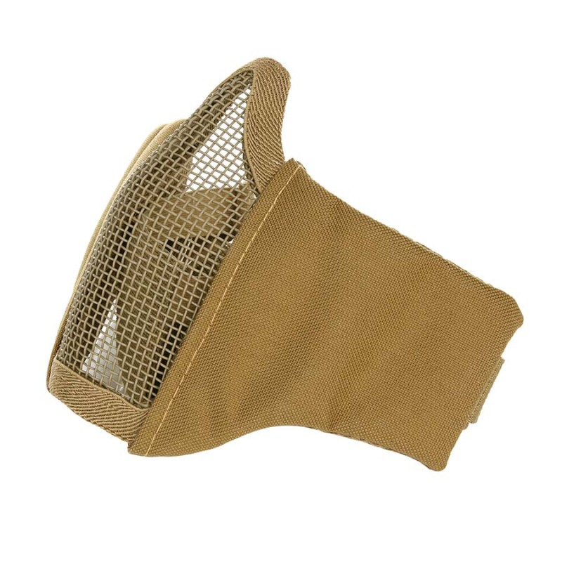 Airsoft face-/ meshmasker - Stof-1168
