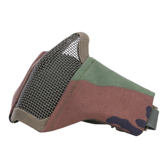 Airsoft face-/ meshmasker - Stof-1166