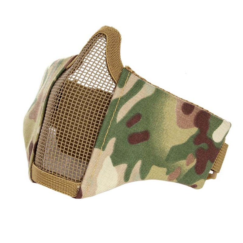 Airsoft face-/ meshmasker - Stof-1167