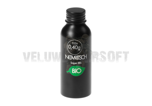 0.40g Sniper BioBBs 555rds Novritsch - White-0
