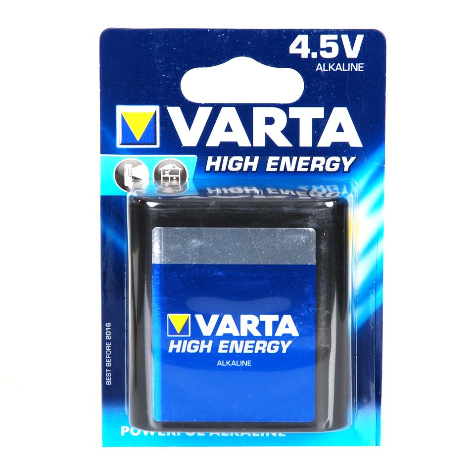 VARTA 4,5 V PLAT BATTERIJ-0