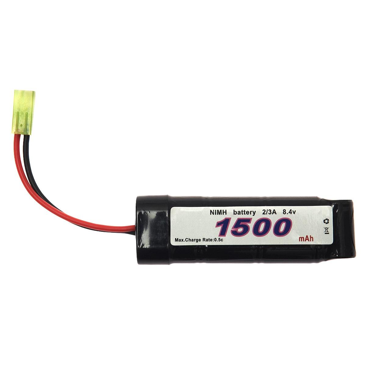 BATTERIJ 101 INC. NIMH 8.4V -1500 MAH BLOCK-0