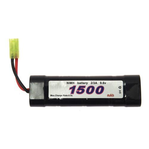 BATTERIJ 101 INC. NIMH 9.6V -1500 MAH BLOCK-0