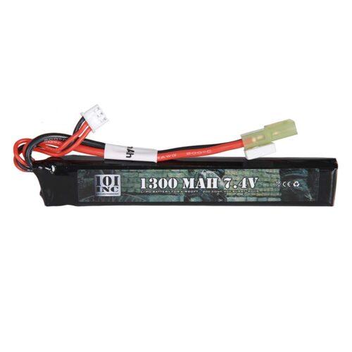 LI-PO BATTERIJ 7.4V -1300 MAH STICK-0