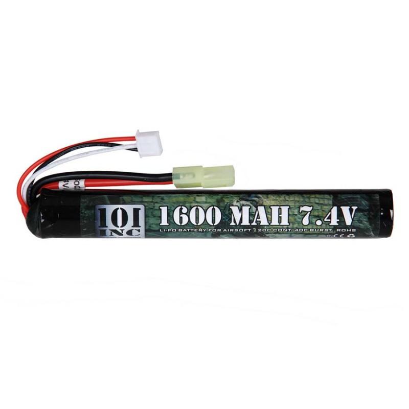LI-PO BATTERIJ 7.4V -1600 MAH STICK-0