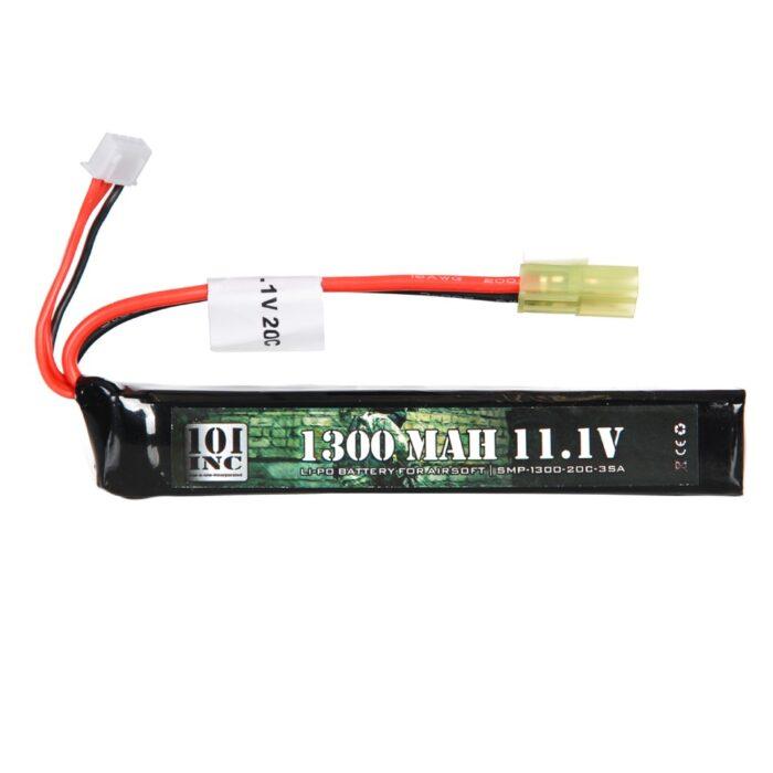 LI-PO BATTERIJ 11.1V -1300 MAH STICK-0
