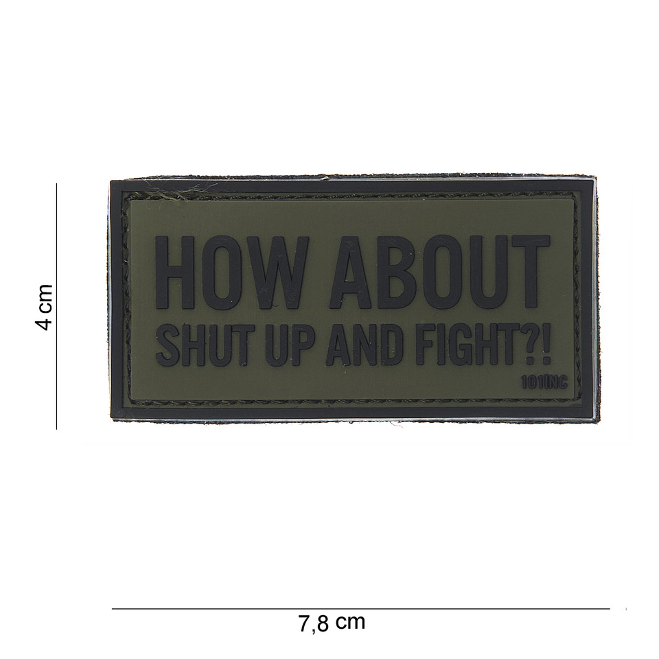 How about, shut up and fight?!-0