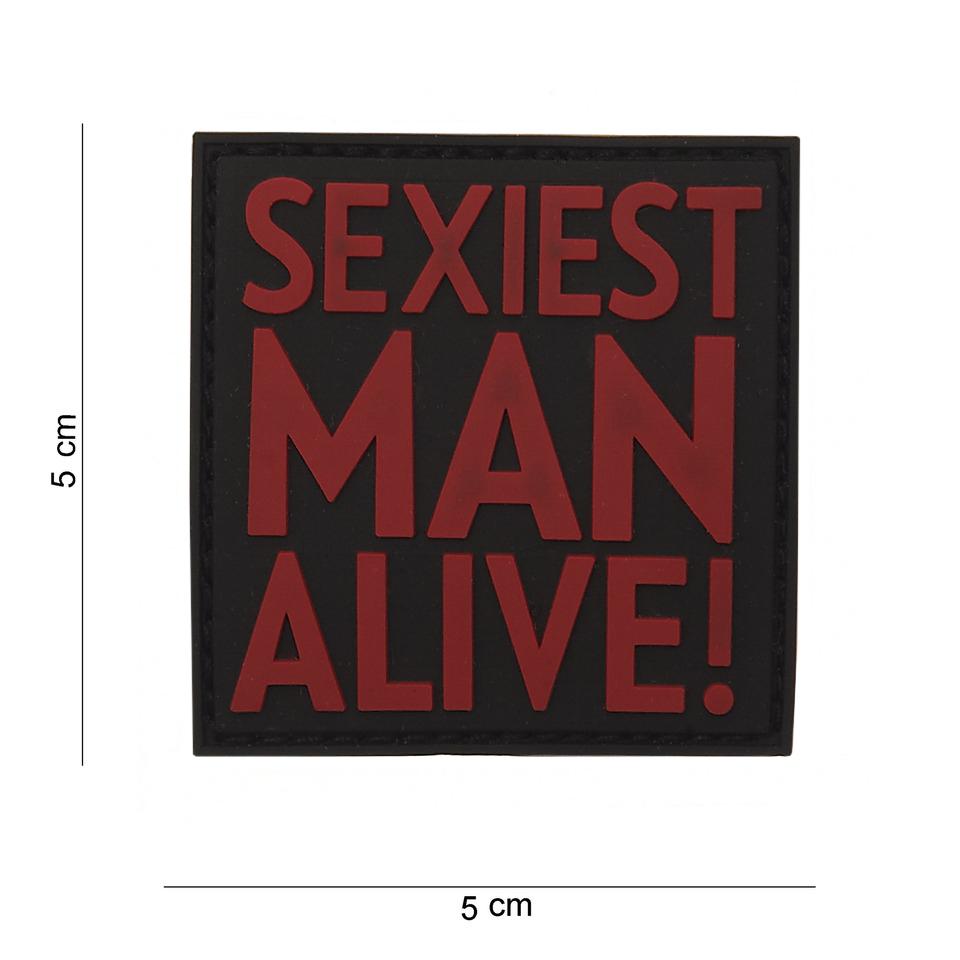 EMBLEEM 3D PVC SEXIEST MAN ALIVE-0