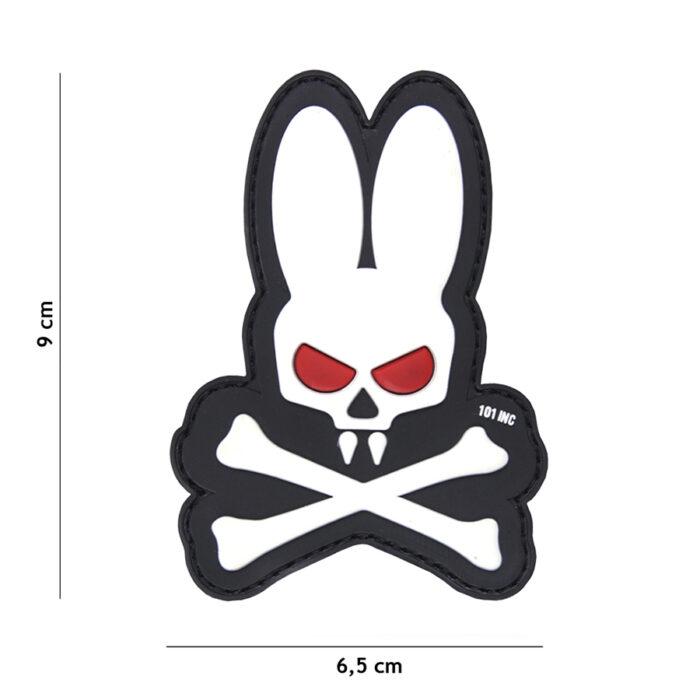Patch - Skull bunny-0