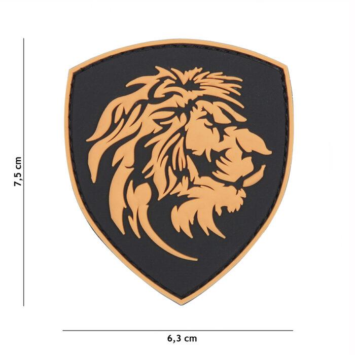 Embleem 3D PVC Nederlandse leeuw-0