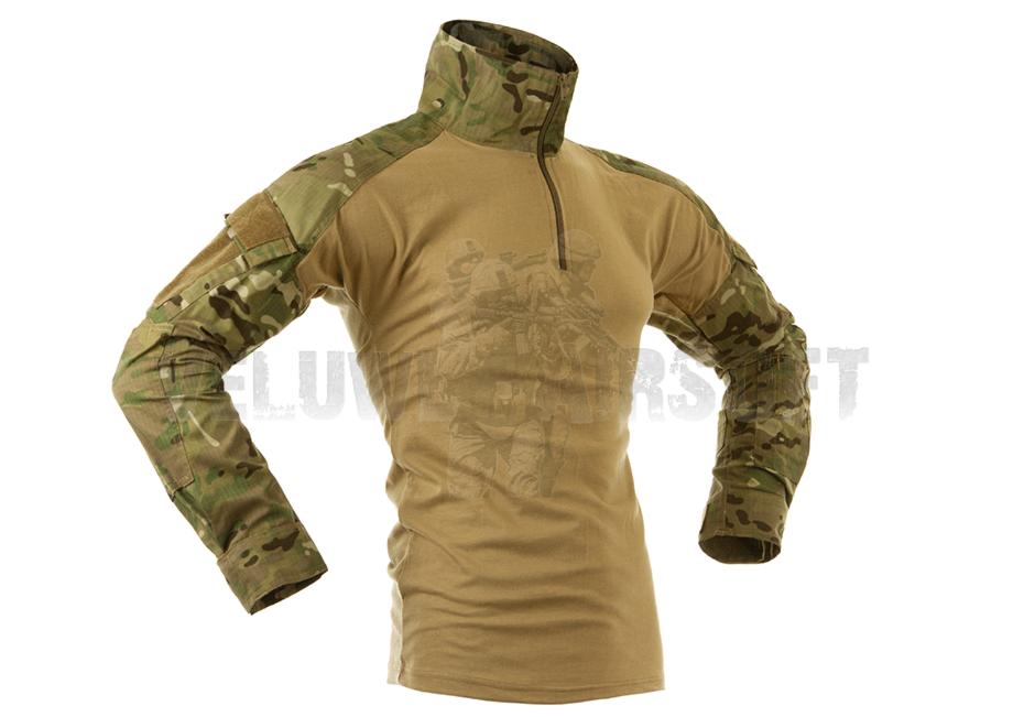 Combat Shirt - Multicam-0