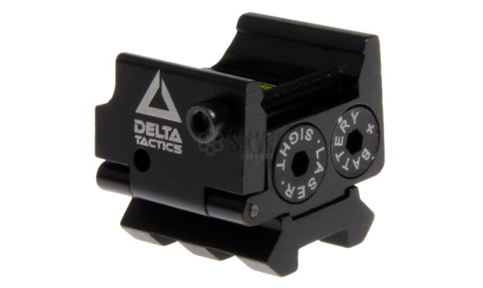 DELTA TACTICS RED LASER WITH PICATINNY RAIL-0