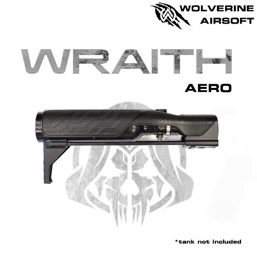 WOLVERINE MTW WRAITH AERO STOCK FOR MTW, INCLUDES STORM INBUFFER REGULATOR-0
