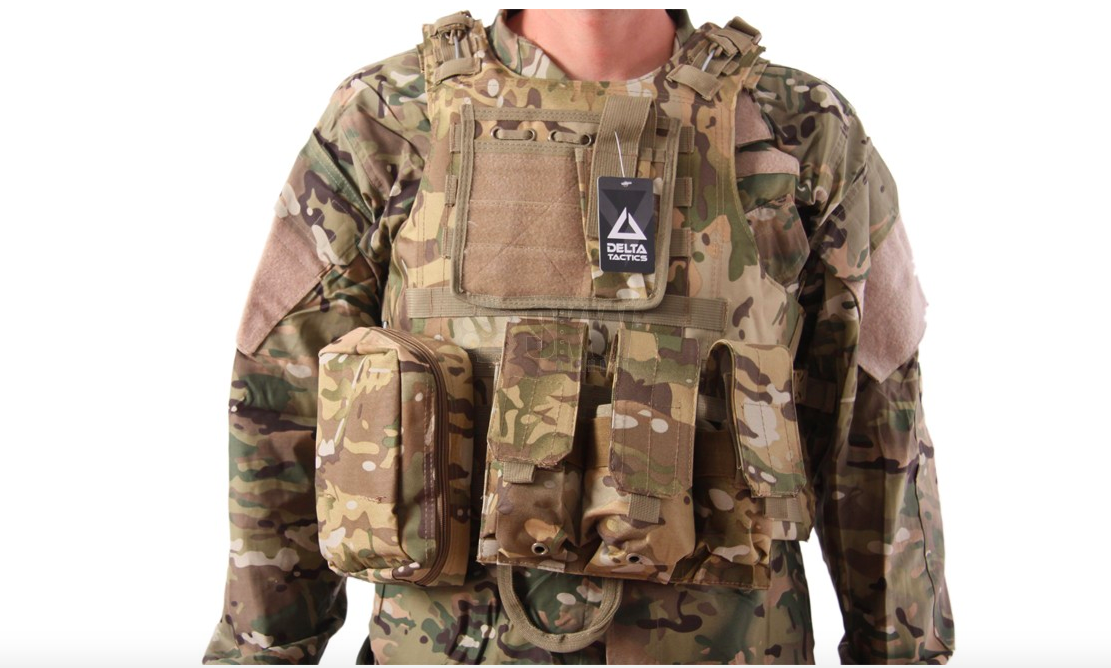 Delta Plate Carrier - Multicam-0