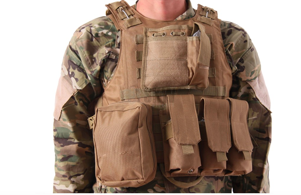 Delta Plate Carrier - Coyote-0