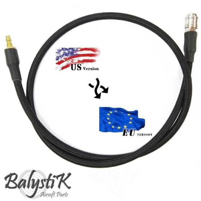 Balystik Deluxe Line Adapter US-EU-BK-0