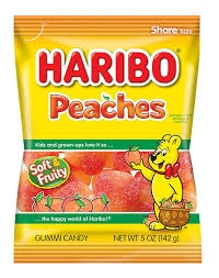 Haribo Happy Peaches-0