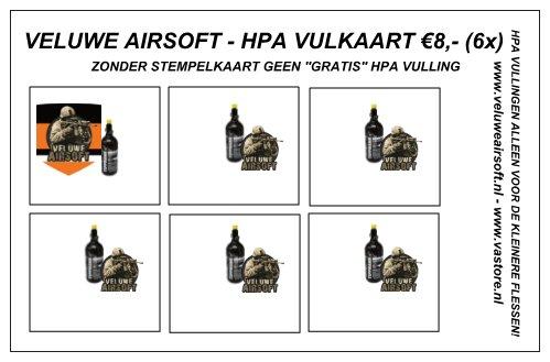 HPA VULKAART VELUWE AIRSOFT 6X -0