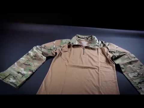 Combat Shirt - Woodland-1085