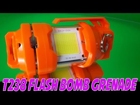 T - 238 Flash Grenade incl. batterij!-1345