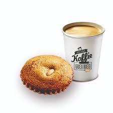 Koffie met gevulde koek-0