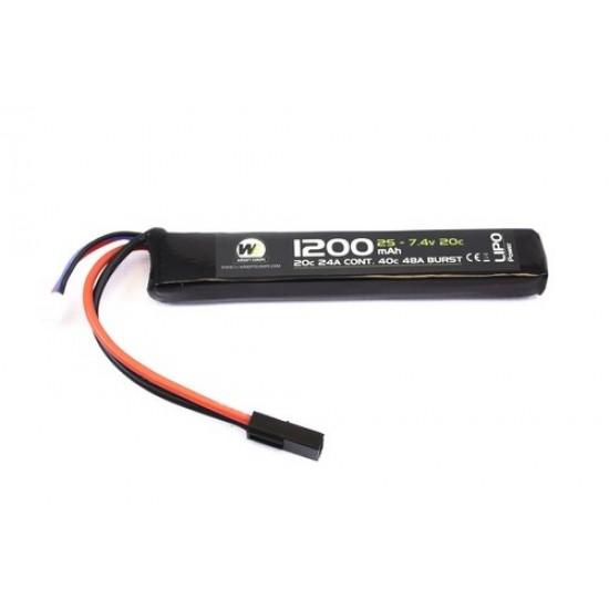 Nuprol Battery - Deans Lipo - 1200Mah - 7.4V-0