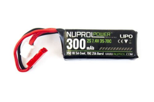 Nuprol Battery - Lipo Stick 300Mah 7.4V-0