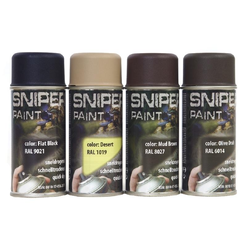 Sniper Paint Flat Black-0